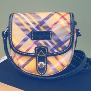 Like New! Dooney & Bourke  Plaid Crossbody Mini